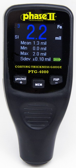 Coating Paint Thickness Gauges